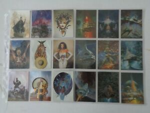 Masters Of Fantasy     Full set of  90   Trading Cards