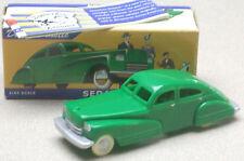 "Dimestore Dreams Green Sedan Plastic Car 5"" NEW in Box (see photo)"
