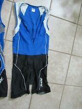 ZOOT MENS LARGE TRIATHLON SUIT CYCLING SWIMMING RUNNING SEE PICS *FREE SHIP