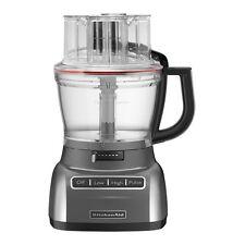 KitchenAid 13-Cup 3.1L Wide Mouth Big Food Processor R-KFP1333QG Liquid Graphite
