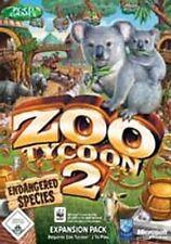 ZOO TYCOON 2 AddOn ENDANGERED SPECIES Deutsch * Neuwertig