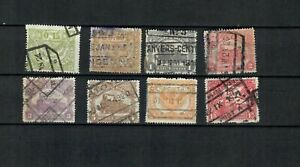 BELGIUM EUROPE COLLECTION OF POSTAL USED FISCAL POSTAGE STAMP  LOT ( BELG 300 B)