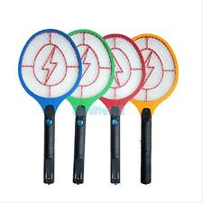 Rechargeable LED Electric Bug Pest Fly Mosquito Killer Swatter Zapper Racket S2