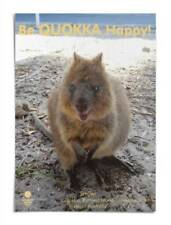 A3 Quokka Poster Be Quokka Happy