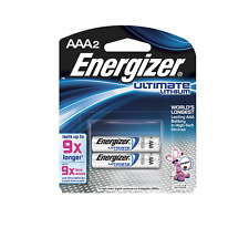 Energizer e2 Lithium Batteries AAA 2, 2 ea