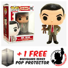 FUNKO POP MR BEAN VINYL FIGURE + FREE POP PROTECTOR