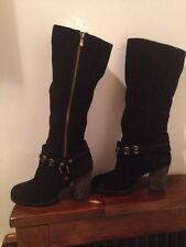 Chinese Laundry Boots 8.5 Medium Leather Tall
