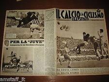 IL CALCIO E CICLISMO ILLUSTRATO 1960/10=ROMA LAZIO=FANFULLA=ALESSANDRIA JUVENTUS