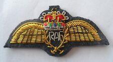 RAF Wings Badge Mess Dress Royal Air Force R a F Rank Army Military