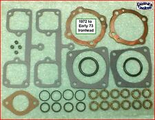 Top End Gasket Kit, 1972~Early 73 Ironhead Sportster 1000cc Harley ref. 17030-72