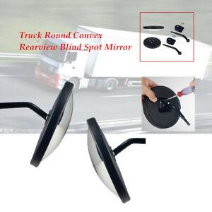 2pcs/set Car Truck Round Convex Rearview Blind Spot Convex wide angle Mirror