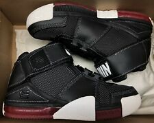 2004 Nike Air Lebron Ii 2 Black Varsity Red White 309675-011 Sz 5y