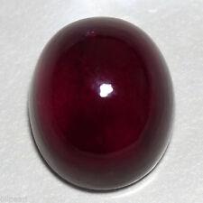 12x10mm Corte Cabujón Ovalado Morado Oscuro/Rojo Natural Almandino Granate