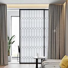 Geometric Electrostatic Film PVC Static Cling Frosted Window Film Glass Sticker