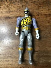 Power Rangers SILVER RANGER Dino super charge bandai mighty morphin graphite H