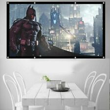 120 Inch White Theater Home Indoor 16:9 Projector Screen Projection Accessories