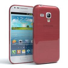 Funda protectora para Samsung Galaxy Mini s3 brushed cover móvil, funda rosa