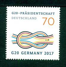 DUITSLAND UITGAVE 2017 ZEGEL G20 PRESIDENTSSCHAP. (GEGOMD)