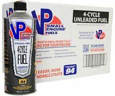 Small Engine Fuel 4-Cycle 94 Octane Ethanol Free No Oil Unleaded 32 Oz 8-Pack
