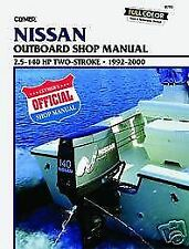 Nissan Outboard 2.5hp-140hp 1992-200 Motor Service & Marine Engine Repair Manual