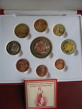 Switzerland 2004 INA Fantasy Pattern Proof coin set Ceros - 5 Europ COA boxed