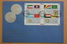 Flaggen, Münzen - UNO Genf - 1 KB auf FDC 2010