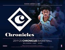 Chicago Bulls - 2019-20 Chronicles Basketball Single (1) Hobby Box Break