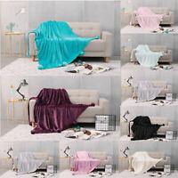 Pom Pom Throws Fleece  Blankets  For Bed Sofa  Designer Soft Warm Cosy  Luxury