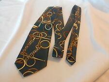 Mercedes Vintage Hand Made Western Men's vintage Neck Tie Ties Myung Ju Silk (Ah