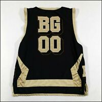 Nike Battlegrounds Basketball Jersey | Large/XL | Black/Gold | #00 | Rare