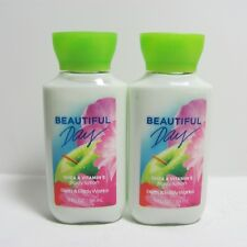2 X BEAUTIFUL DAY BATH & BODY WORKS VITAMIN E BODY LOTION LOT TRAVEL SIZE P22