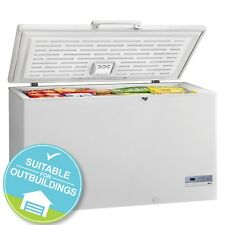 SIA CFR500WH Large Chest Freezer In White | 2 Metal Baskets | Huge 519L Capacity