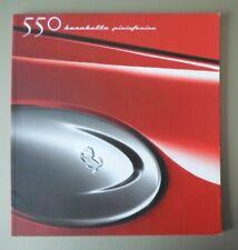 FERRARI 550 BARCHETTA PININFARINA orig 2000 Large Format Prestige Sales Brochure