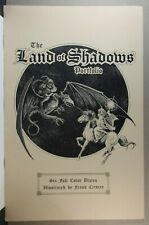 THE LAND OF SHADOWS BY FRANK CIROCCO SIGNED LIMITED ED. PORTFOLIO - 718/1000