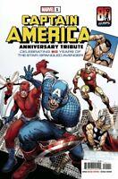 Captain America Tribute #1 Steve McNiven Cover Marvel Comics 2021