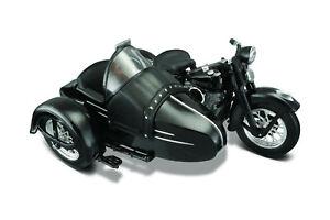 Harley-Davidson 1948 Fl Panhead With Side-Car 1:18 Maisto Die Cast Model