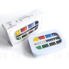 Sennelier Aqua Mini Artists Watercolour Pocket Set. Artists Paint Set.