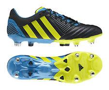 Adidas Predator Incurza XT SG Navy Lime Blue Rugby Boots [G60023] UK 7 EU 40.6