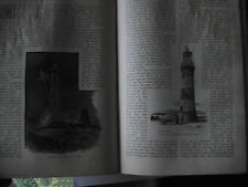 Eddystone Lighthouse Smeaton Plymouth Hoe Lantern Rare Victorian Article 1892