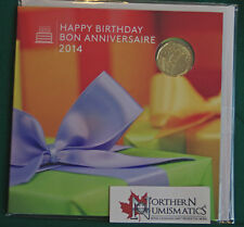 2014 Canada Uncirculated Birthday set - still sealed - special dollar coin