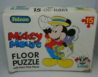 Falcon Mickey Mouse 15 Piece Large Wooden Floor Puzzle