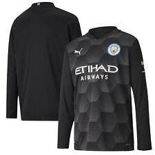Puma Kids Manchester City Home Goalkeeper Football Shirt 2020-21 - Long Sleeve