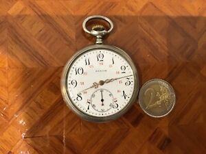 Ancien montre à gousset Zénith argent massif, très bon état