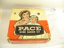 Pace Home Barber Kit in box with instructions