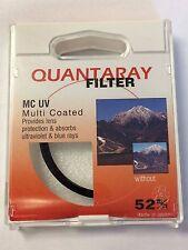 Quantaray UV Haze Multi-Coated (241665827) 52 mm Filter