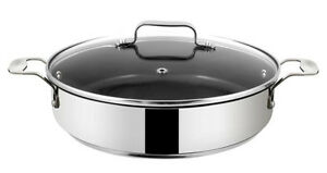 tefal jamie oliver stainless steel shallow pan 25cm