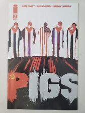 PIGS #1-8 (2008) IMAGE COMICS FULL COMPLETE SET NATE COSBY! BEN McCOOL! TAMURA!