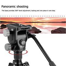 Vt-1520 Portable Camera Tripod Tilt Pan Head Hydraulic Damping Fluid Head #Vic