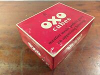 Collectable c1950's Vintage Oxo Tin 24 x 6's