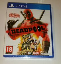 DEADPOOL PS4 New Sealed UK PAL Sony PlayStation 4 dead pool Marvel Action Game